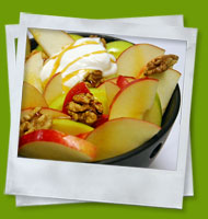 Fresh apple salad